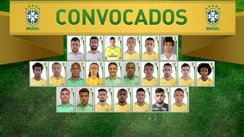 Дуглас Коста и Виллиан - в составе Бразилии на Кубок Америки