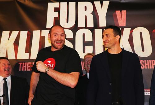 На бой Тайсон Фьюри – Кличко продано почти 90% билетов