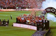 Бенфика стала чемпионом Португалии