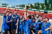 Пляжный футбол: столичный ХИТ завоевал Кубок Украины!