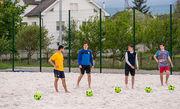 Ивано-франковский Ураган создал команду пляжного футбола