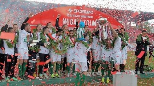Жальгирис выиграл Кубок Литвы