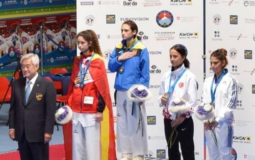 Ирина Ромолданова стала чемпионкой Европы по тхэквондо