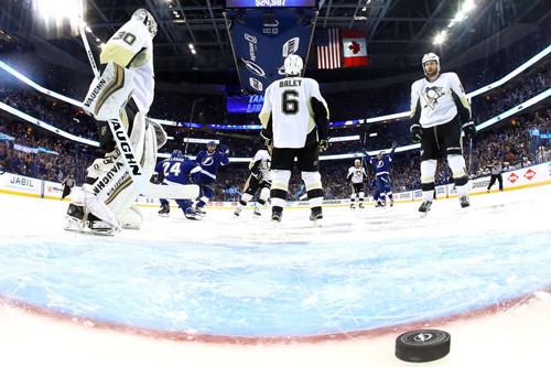 НХЛ. Тампа-Бэй сравняла счет в серии с Питтсбургом