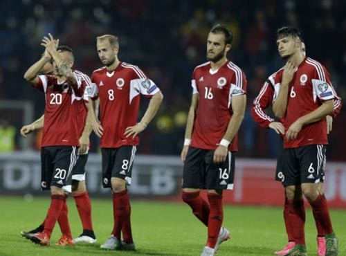 Албания назвала расширенный состав на Евро-2016
