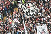 Фанаты Айнтрахта едва не обрушили свой стадион