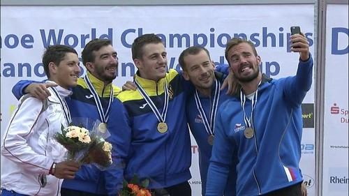 Украинцы завоевали три золота на этапе КМ по гребле