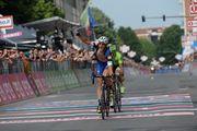 Маттео Трентин - победитель 18-го этапа Джиро д'Италия-2016
