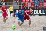 Пляжный футбол: стартовал Чемпионат Киева 2016 в Высшей лиге