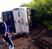 Автобус с игроками Динамо U-16 попал в аварию