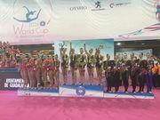 Украинки завоевали медали в многоборье на Кубке мира