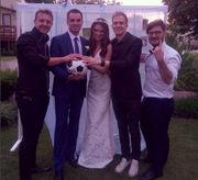 Ведущая Профутбола вышла замуж