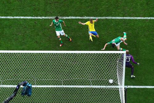 Ирландия - Швеция - 1:1. Видео голов и обзор матча