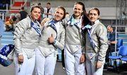 Украинские саблистки выиграли бронзу чемпионата Европы