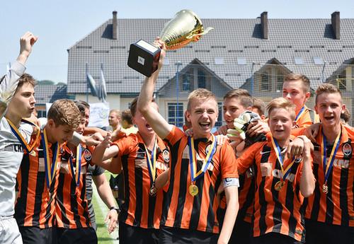 Шахтер U-14 стал чемпионом Украины