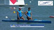 Украинская «двойка» завоевала медаль ЧЕ в Москве