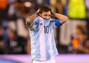 Эмоции Месси после поражения в финале Кубка Америки