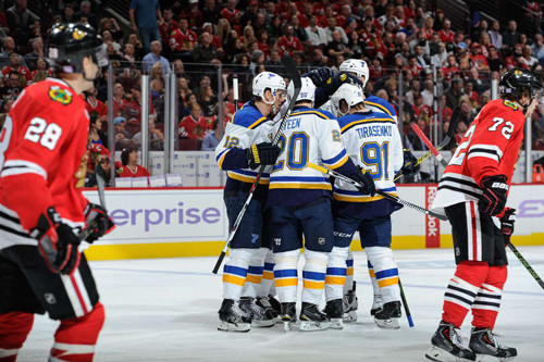 НХЛ. Непростая победа Сент-Луиса. Матчи среды