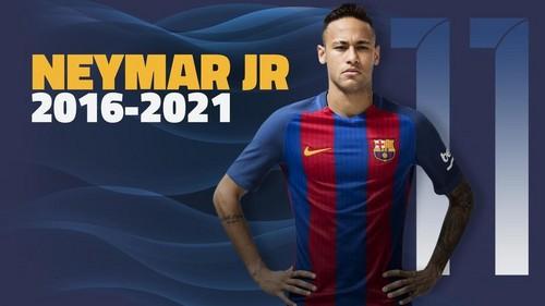 ОФИЦИАЛЬНО: Неймар подписал новый контракт с Барселоной
