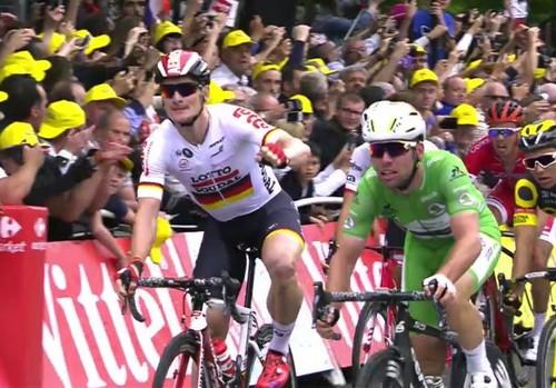 Марк Кавендиш выиграл третий этап Тур-де-Франс