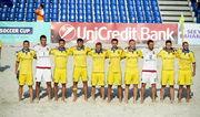 Пляжный футбол: сборная Украины вылетела в Испанию на EBSL