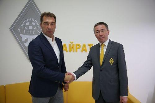 Петр Нойштедтер стал спортивным директором Кайрата