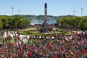 Как в Португалии чемпионов Европы встречали