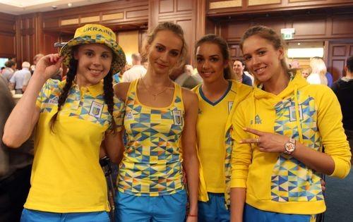 2c1221411eb3 Олимпийская сборная Украины презентовала новую форму
