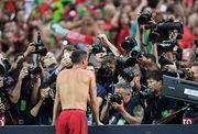 Роналду отжег в прямом эфире после финала Евро-2016