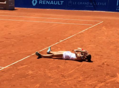 Голубич выиграла турнир в Гштааде