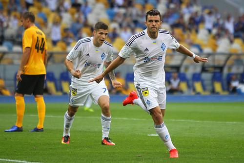 Динамо начинает чемпионат разгромом Александрии