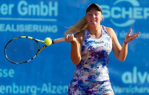 Сотникова выиграла 25-тысячник в Казахстане