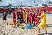 Пляжный футбол: столичный Гриффин делает золотой дубль!