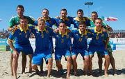 Пляжный футбол: Украина побеждает Италию в серии пенальти