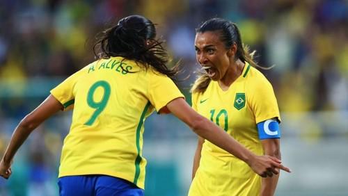 Женская сборная Бразилии разбила Китай, Швеция одолела ЮАР