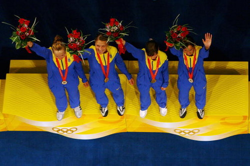 Олимпийские чемпионы Украины