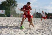 Пляжный футбол: Гриффин сенсационно проигрывает на старте ЧУ