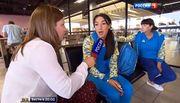 Как российский канал взял интервью у наших олимпийцев
