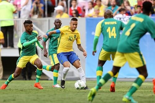 Рио-2016: Бразилия с Неймаром не смогла обыграть ЮАР