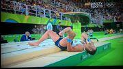 Рио-2016. Французский гимнаст сломал ногу во время прыжка