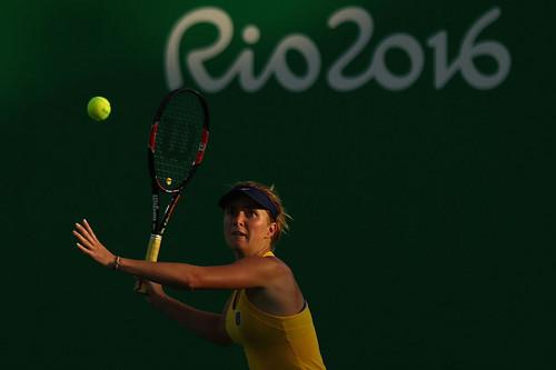 Элина СВИТОЛИНА: «Счастлива выиграть свой первый матч на ОИ»