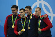 Рио-2016. Майкл Фелпс выиграл 19-ю золотую медаль Олимпиады