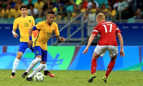 Рио-2016. Бразилия обыграла Данию и вышла в четвертьфинал
