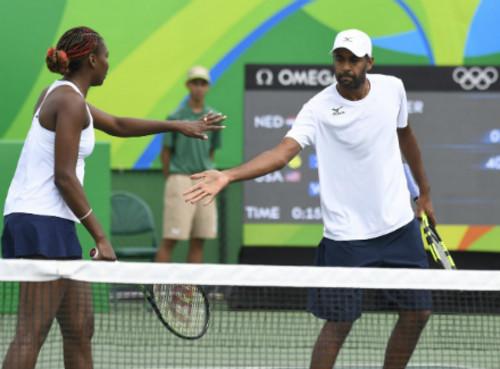 Винус Уильямс вышла в финал Олимпиады в миксте