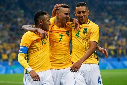 Рио-2016. Футбол. Бразилия и Германия в полуфинале