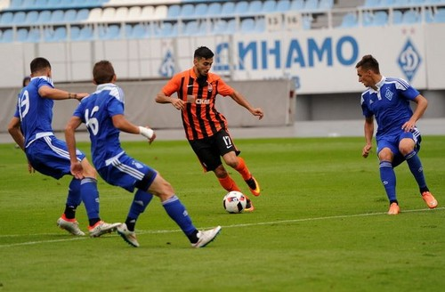 Чемпионат U-19: Динамо проехалось по Шахтеру