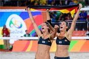 Рио-2016. Женский дуэт из Германии выиграл финал по пляжному волейболу