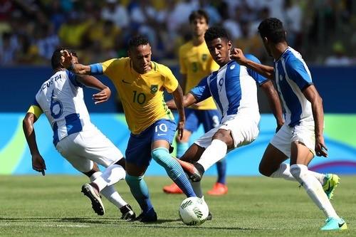 Рио-2016. Футбол. Бразилия растоптала Гондурас и вышла в финал