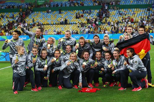 Рио-2016. Германия на Маракане добыла золото, переиграв Швецию