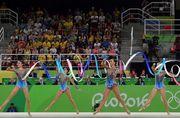 Украинские гимнастки - 8-е в квалификации Олимпиады